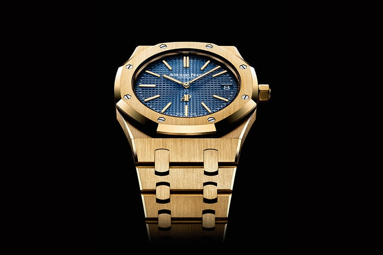 audemars piguet new watch gold color