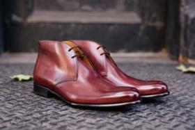 paul evans delivers handmade italian dress shoes