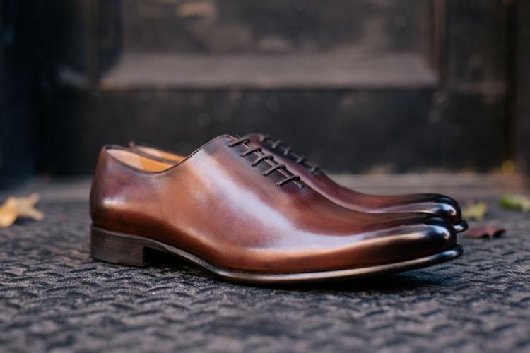 marrone nero colour paul evans shoes