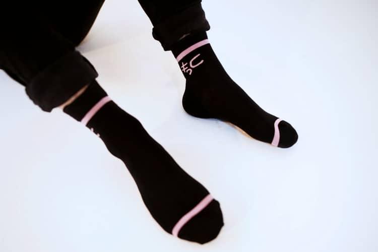 pewdiepie tsuki black socks