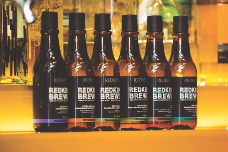 Redken Brews Hair Care Products in Beer Inspired Bottles