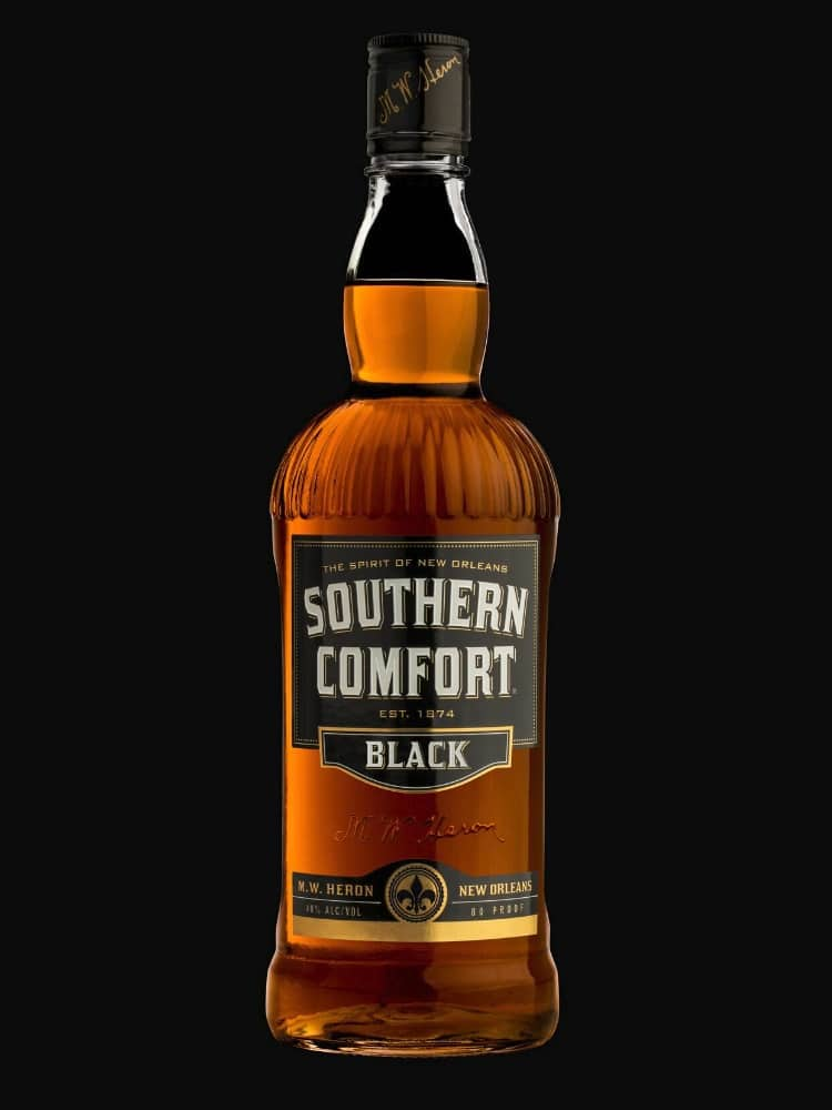 southern comfort black bottle whisky