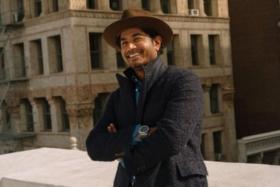 nish de gruiter suit with hat