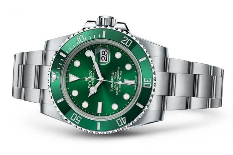 rolex hulk submariner watch