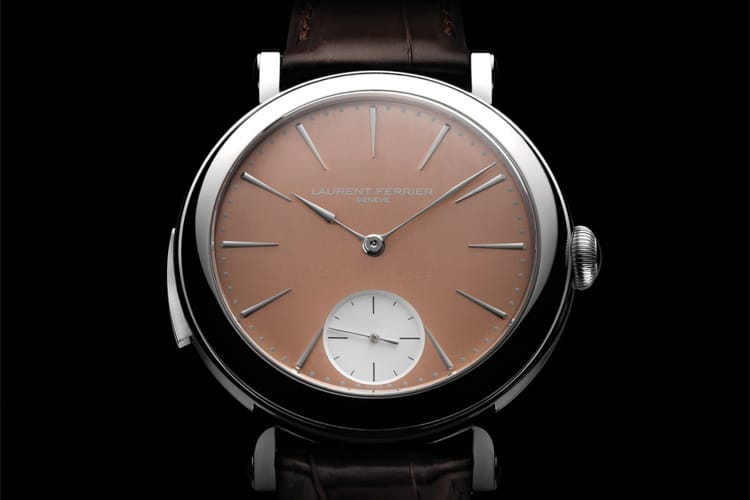 laurent ferrier galet minute repeater school piece