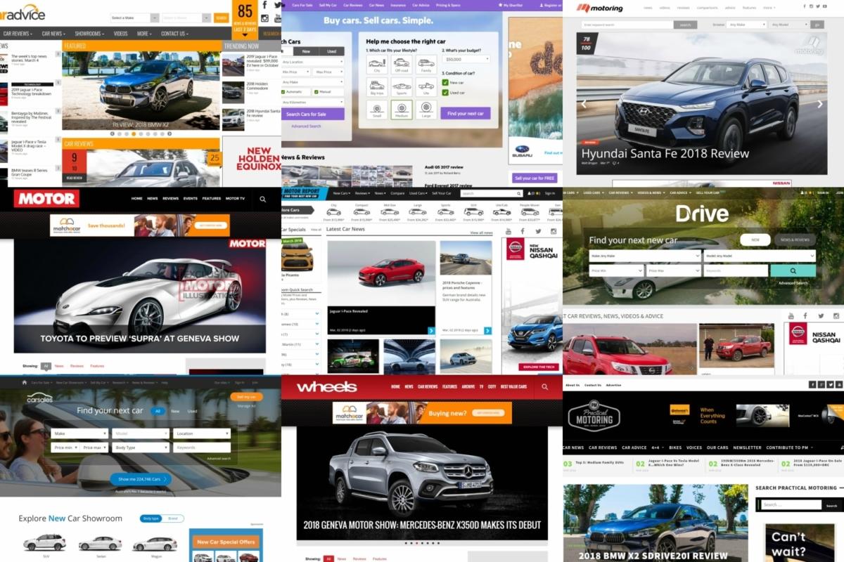 top 10 australian car websites and magazines