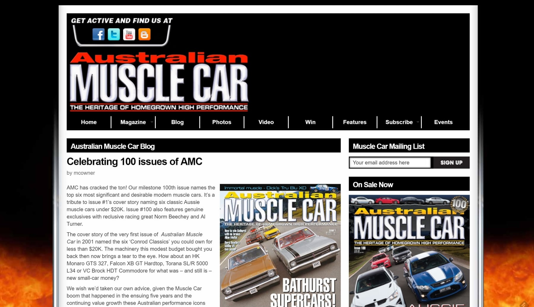 muscle car mag