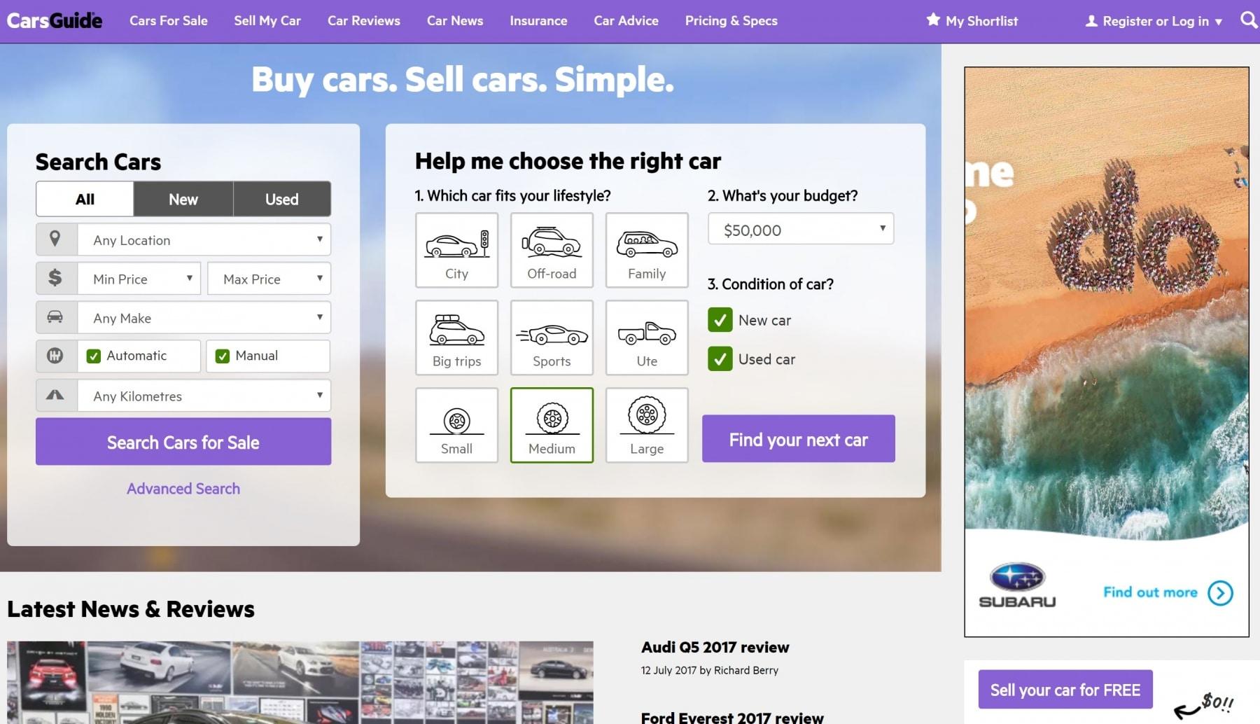 Top 10 Australian Car Websites & Magazines | Man of Many