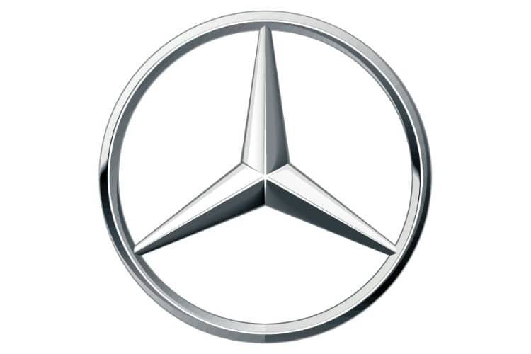 mercedes-benz car emblem with star