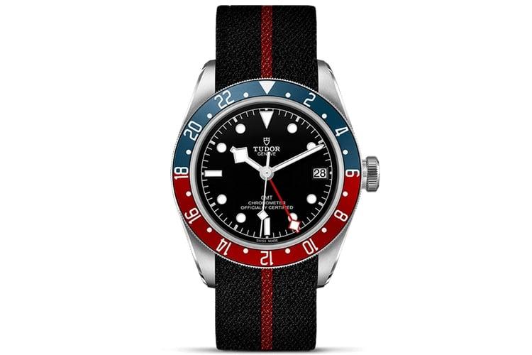 tudor watch black strap