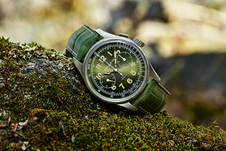 montblanc watch green color