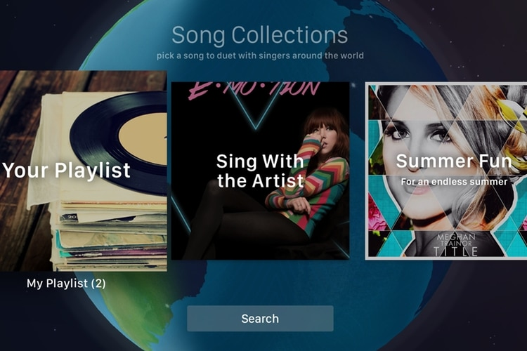 apple tv app smule sing karaoke