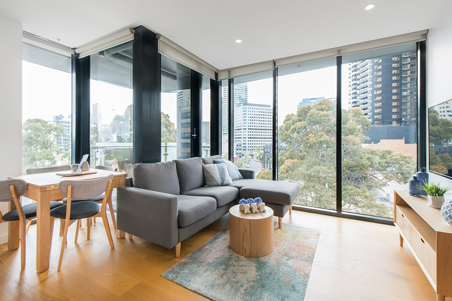 luxury apartment in south melbourne