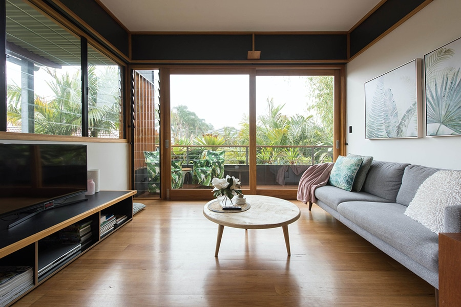 tropical architectural apartment in narrabeen beach