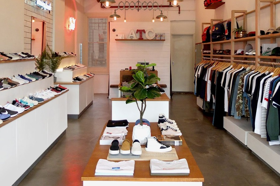 high end sneaker stores