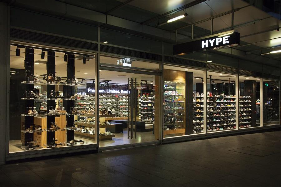 hype dc sydney store