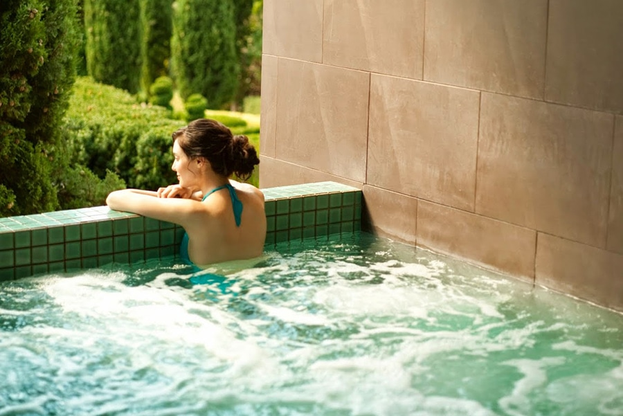 the mineral spa at peppers mineral springs