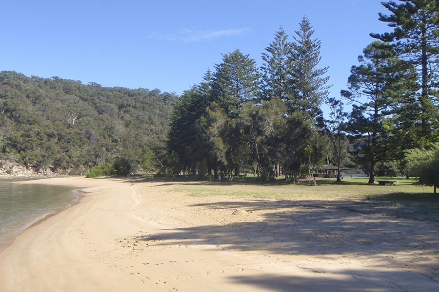 basin campground spot most popular