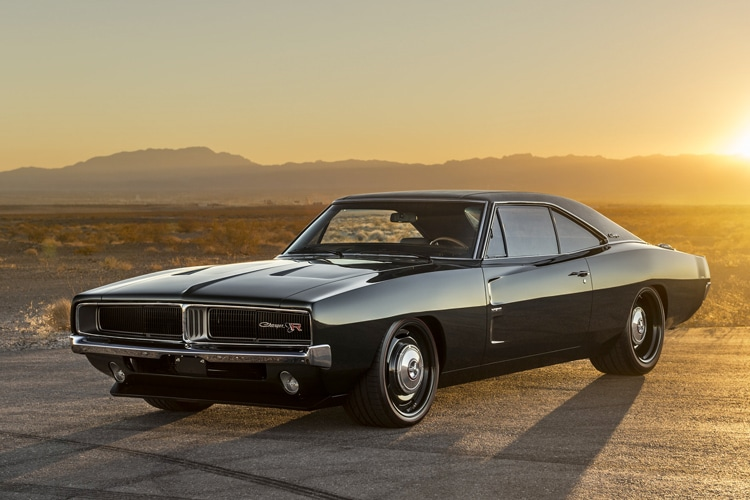 1969 dodge charger defector back to its full glory