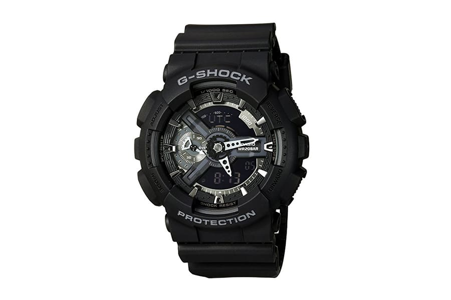 casio g-shock military ga-110 army style black