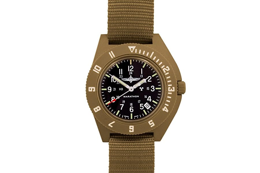 marathon military navigator tan color