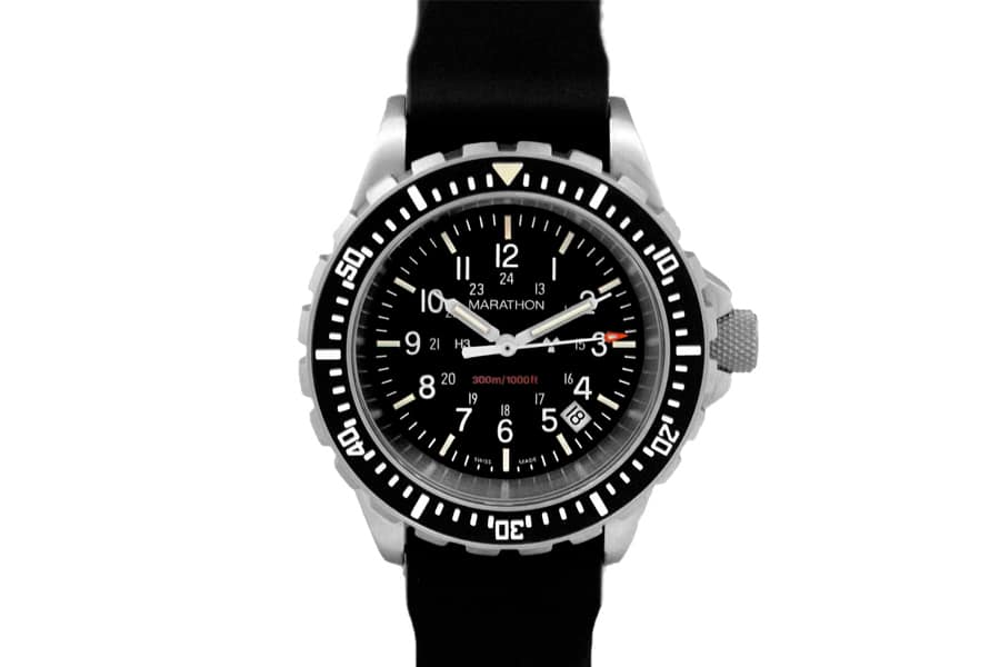 marathon heavy duty diver tactical watch