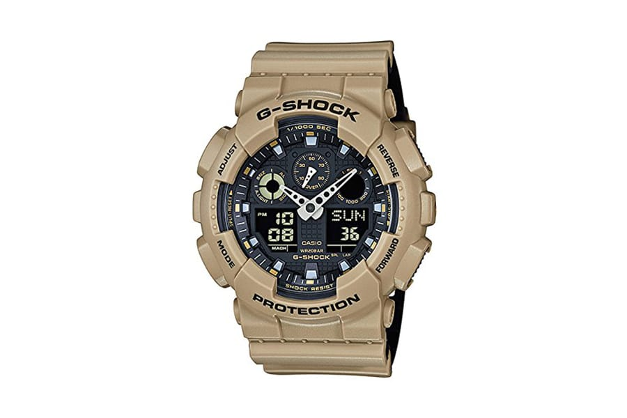 casio g-shock ga100sd-8a high end protection