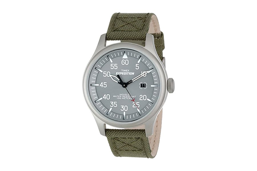 gray timex t498759j expedition military field watch
