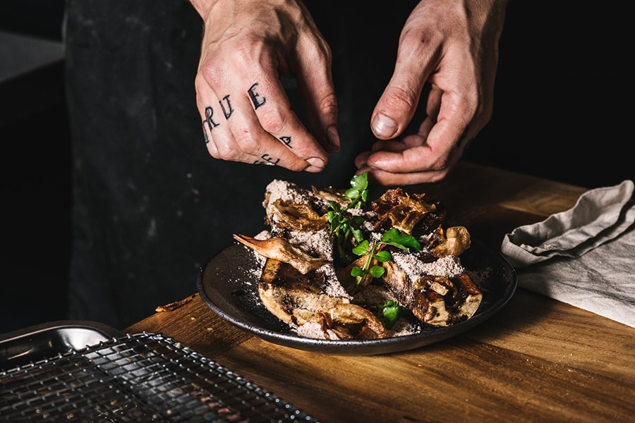 mjolner restaurant dish chef