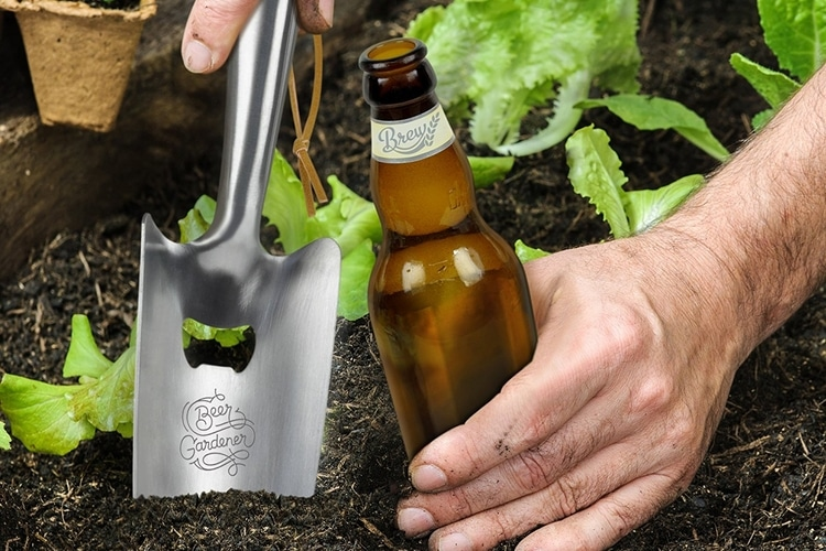 fred & friends beer garden trowel bottle opener