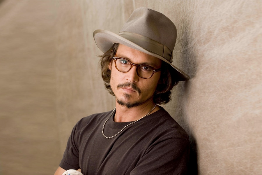 Van Dyke beard on Johnny Depp