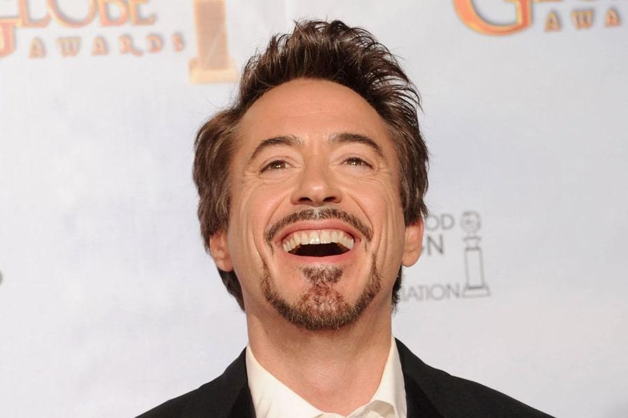 Goatee on Robert Downey Jr.