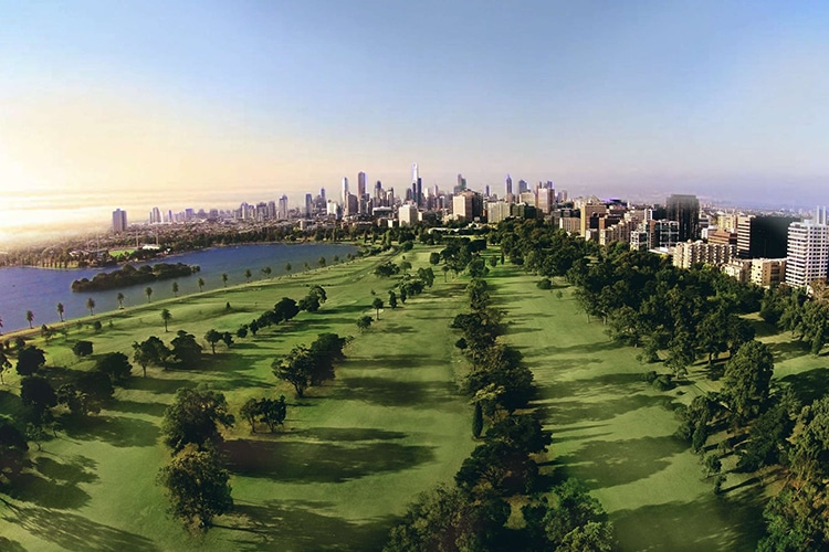 melbourne albert park golf