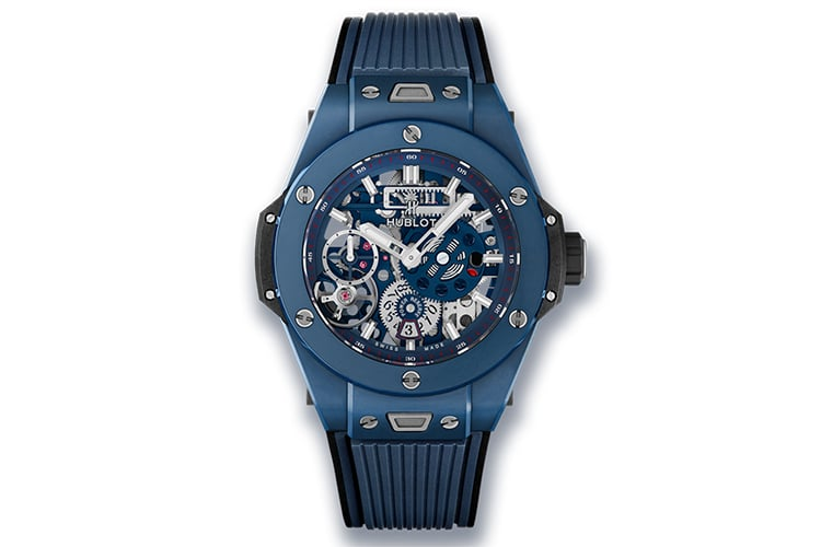 hublot big bang meca 10 ceramic blue