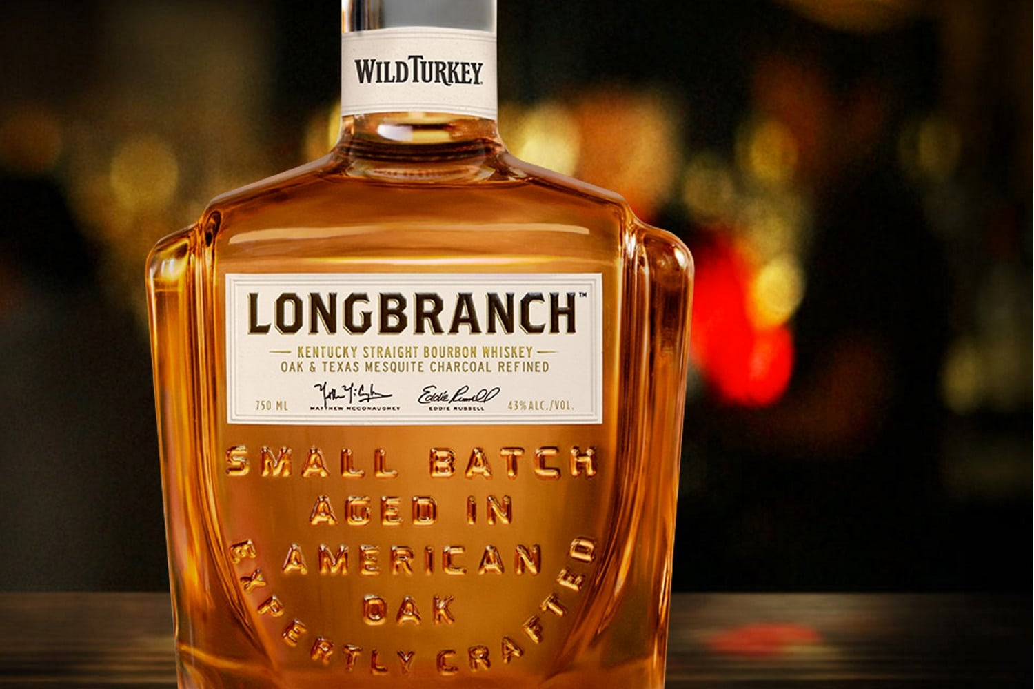 Matthew Mcconaughey Launches His Own Bourbon With Wild