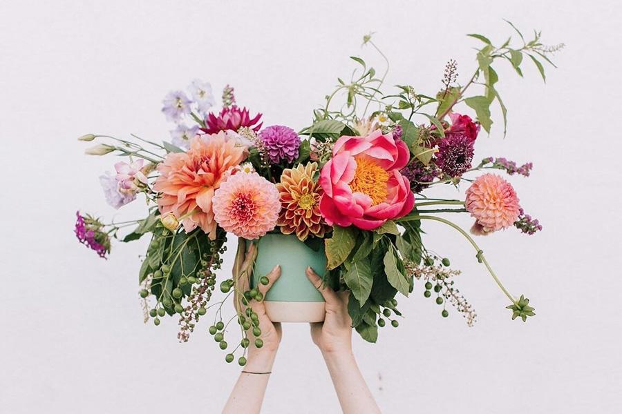 flowerfox flower bouquet