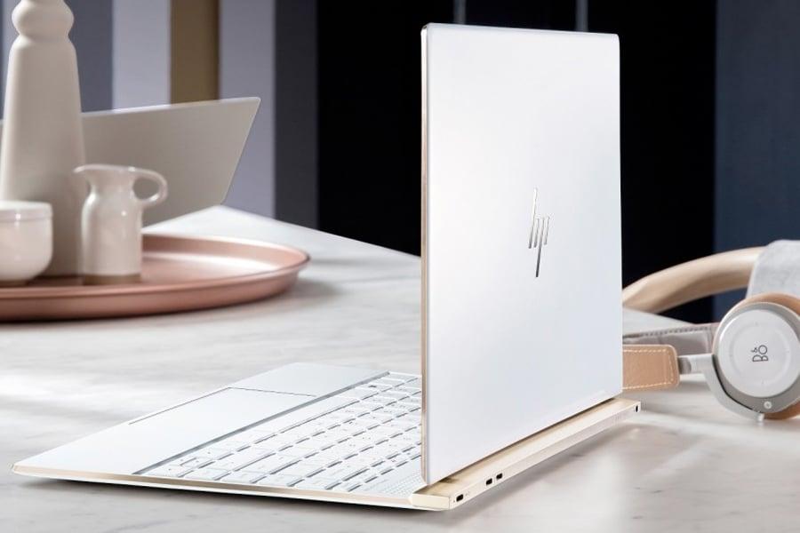 hp spectre ceramic white laptop