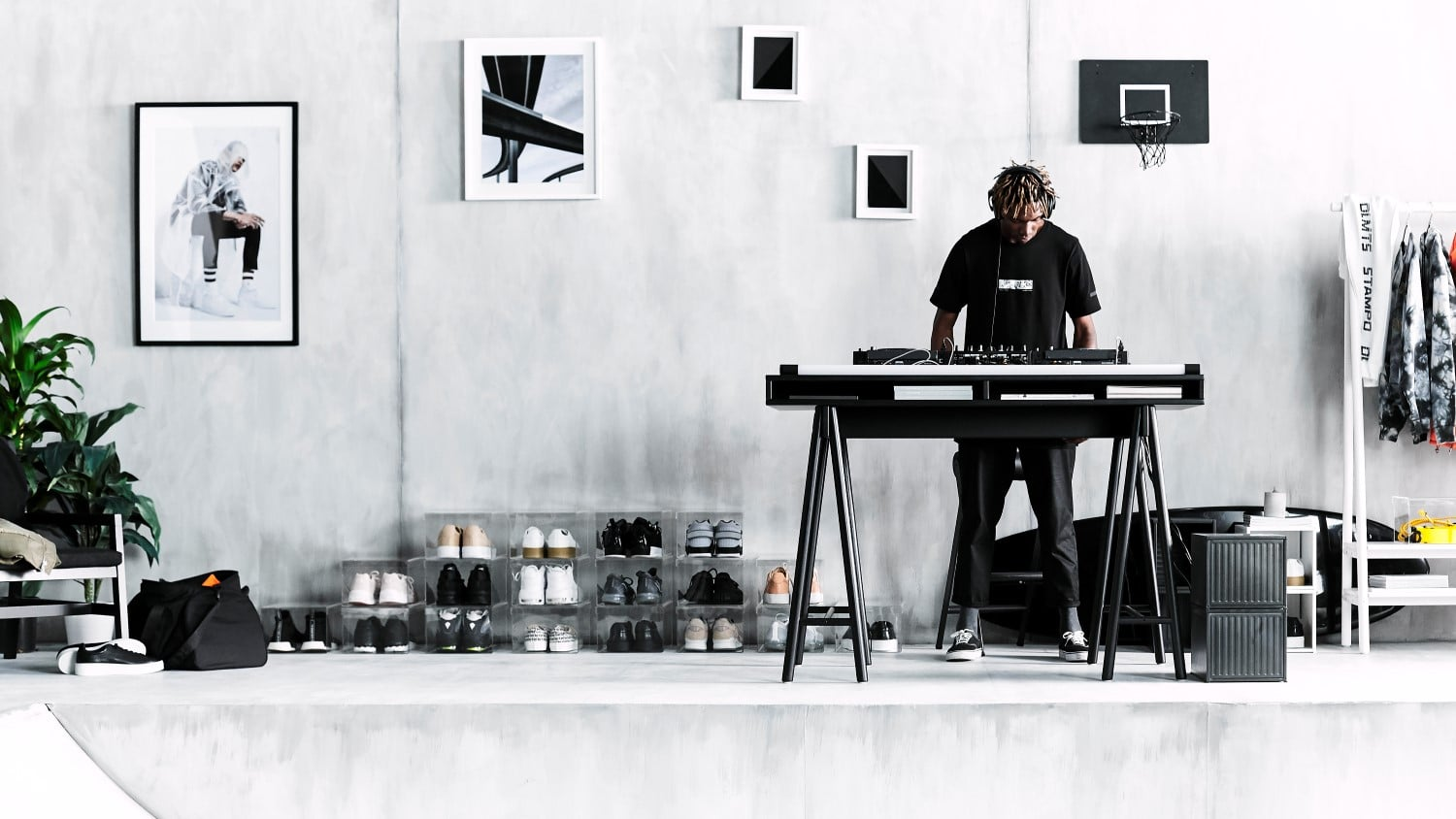 ikea spanst music table