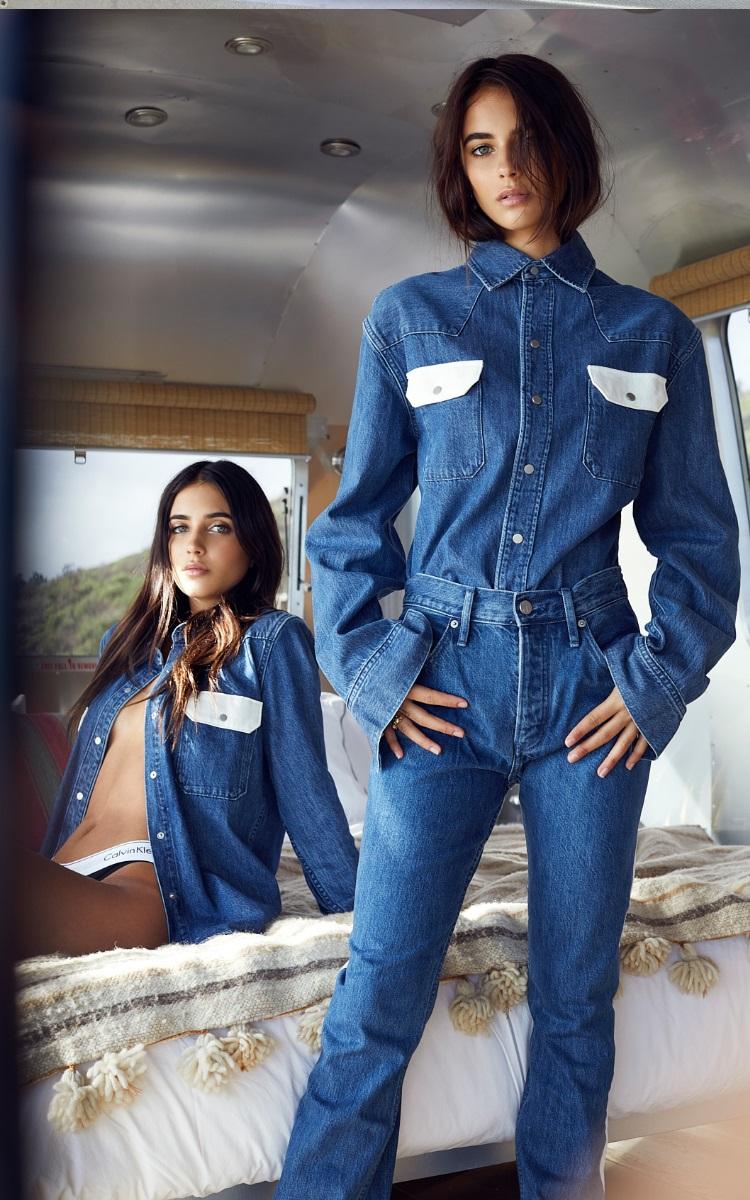 renee and elisha wearing jeans shirt and pant