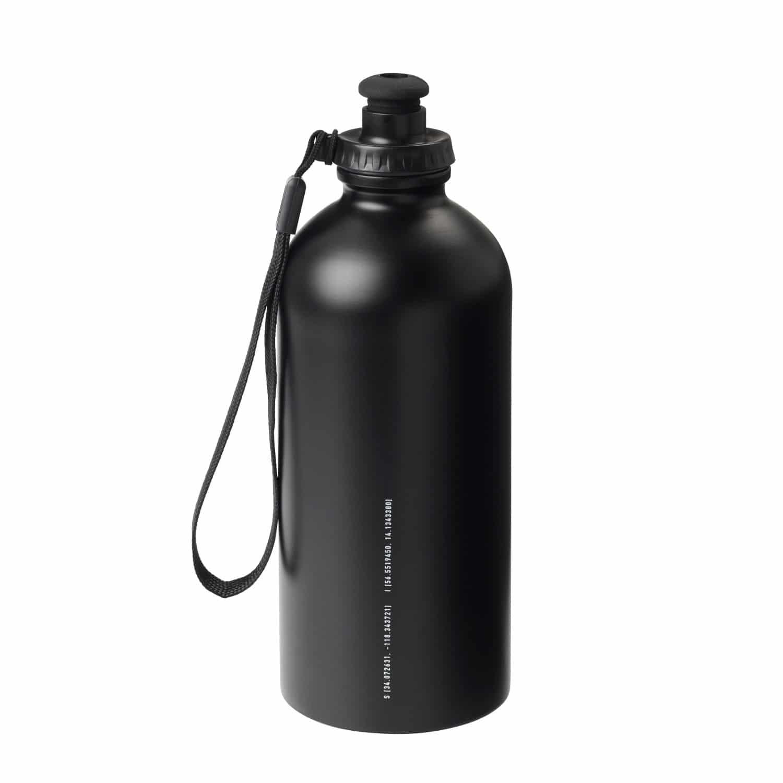 ikea spanst water bottle black