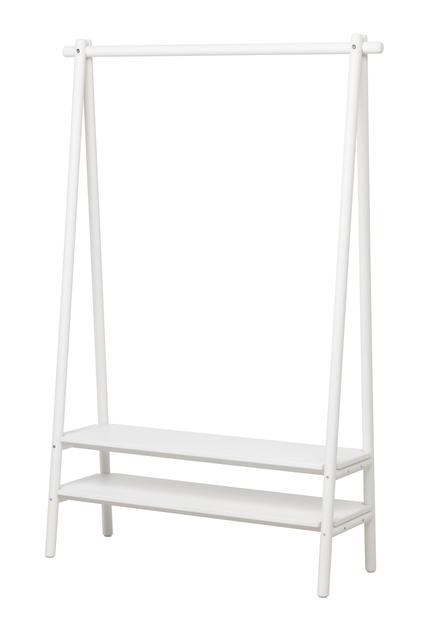 ikea spanst white color rack
