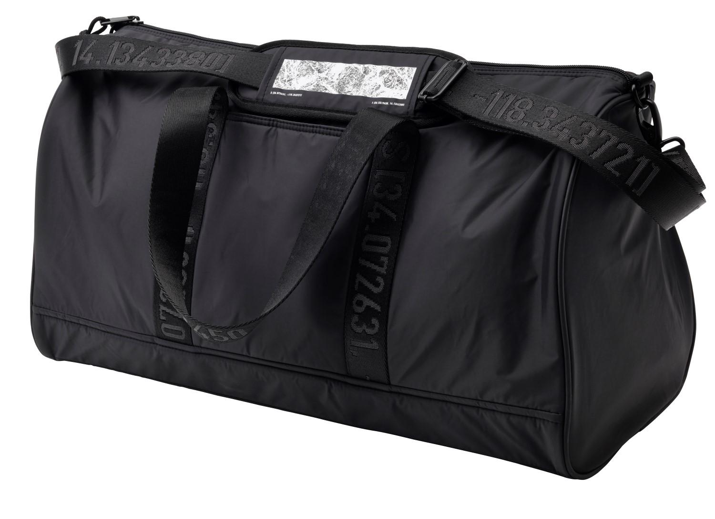 ikea spanst black sports bag