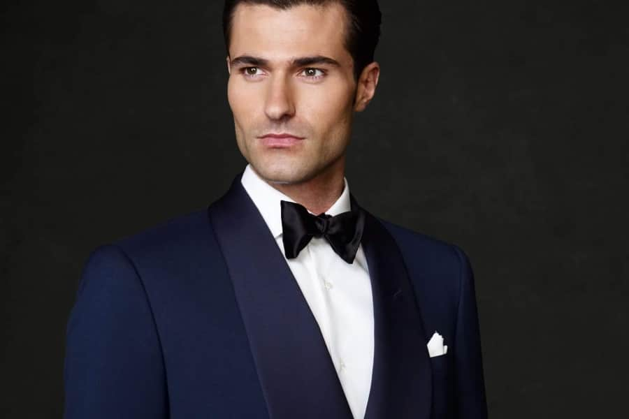 men formal black or white tie dress code