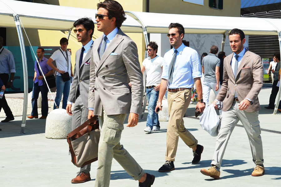 men formal and semi formal dress code style