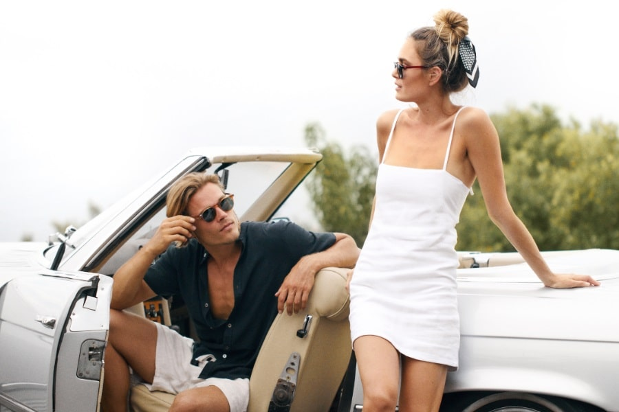 pacifico optical sunglass for men and women wearing