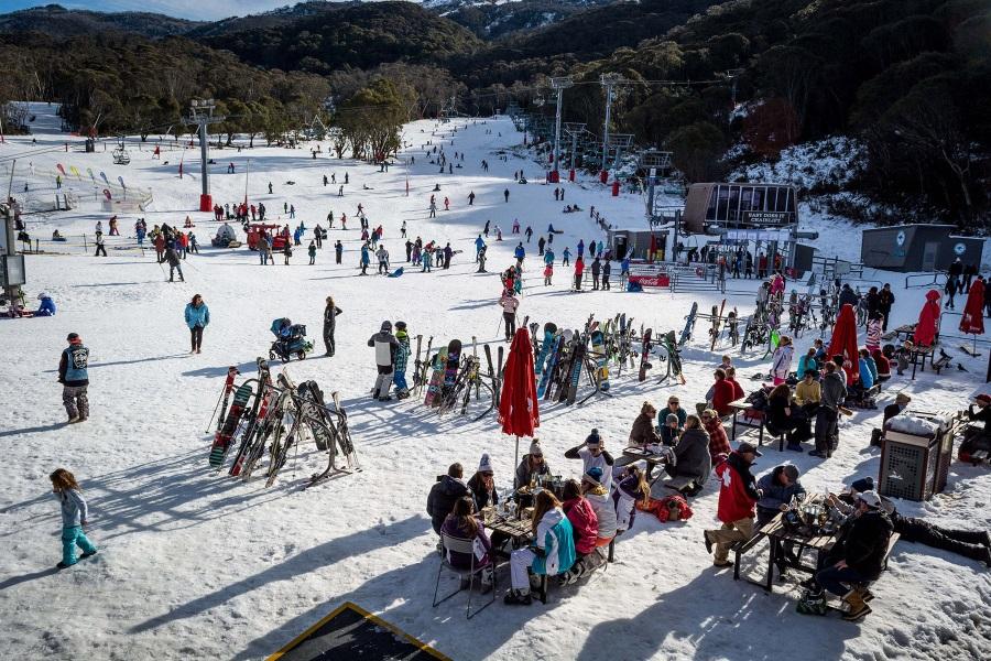australian thredbo alpine resort