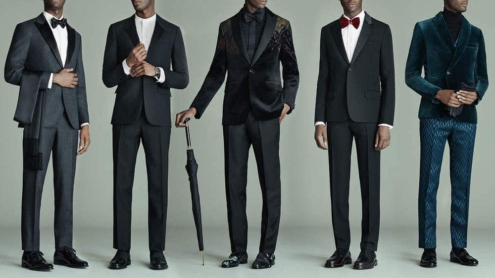 men formal and semi formal dress code attire