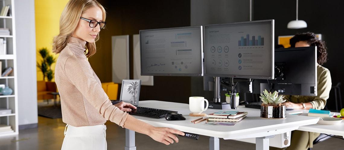 standing desk benefit