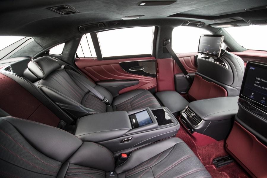 seats lexus ls 500 car