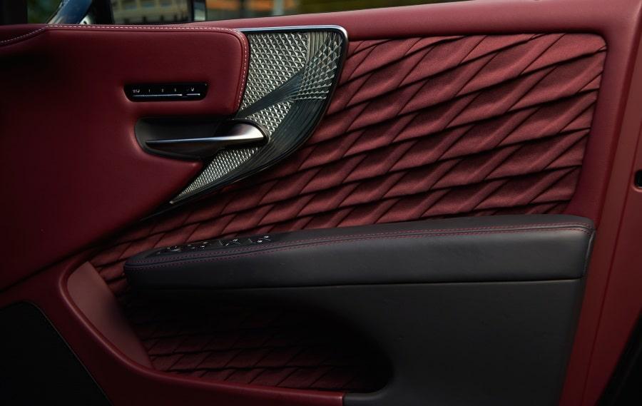 inside design lexus ls 500 car
